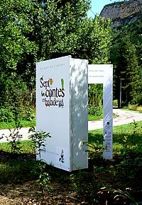 Ballade des 7 contes - Porte