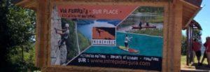 Via Ferrata - Cabane location Les Intrépides