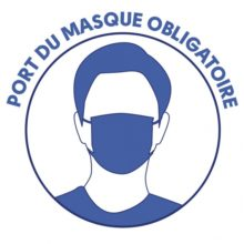 OBLIGATION PORT DU MASQUE – Arrêté préfectoral jusqu'au 16/02/2021