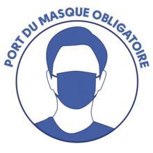 OBLIGATION PORT DU MASQUE – Arrêté préfectoral jusqu'au 30/04/2021