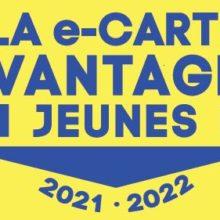 La e-CARTE AVANTAGES JEUNE 2021-2022